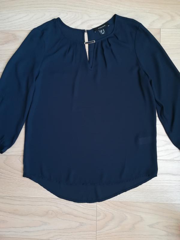 Легкая шифоновая блуза, классика, l/xl