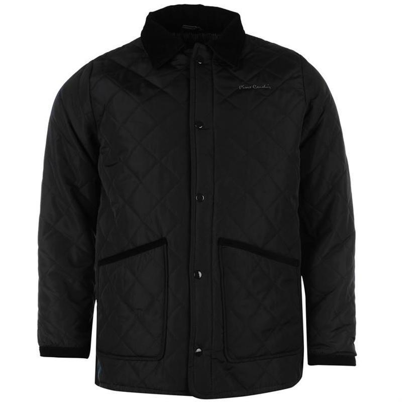 Мужская стеганая осенне-весенняя куртка pierre cardin
