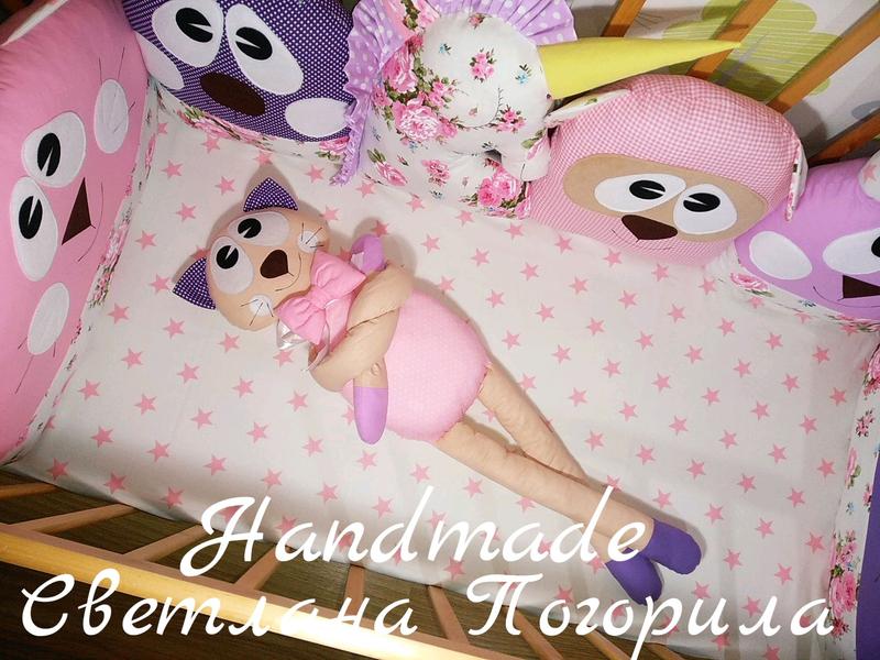 В НАЛИЧИИ комплект в кроватку,бортики, защита, детское постельное - Фото 3
