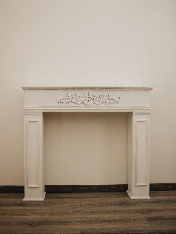 Камин декоративный гипсовый, фальш камин, портал для камина KP20