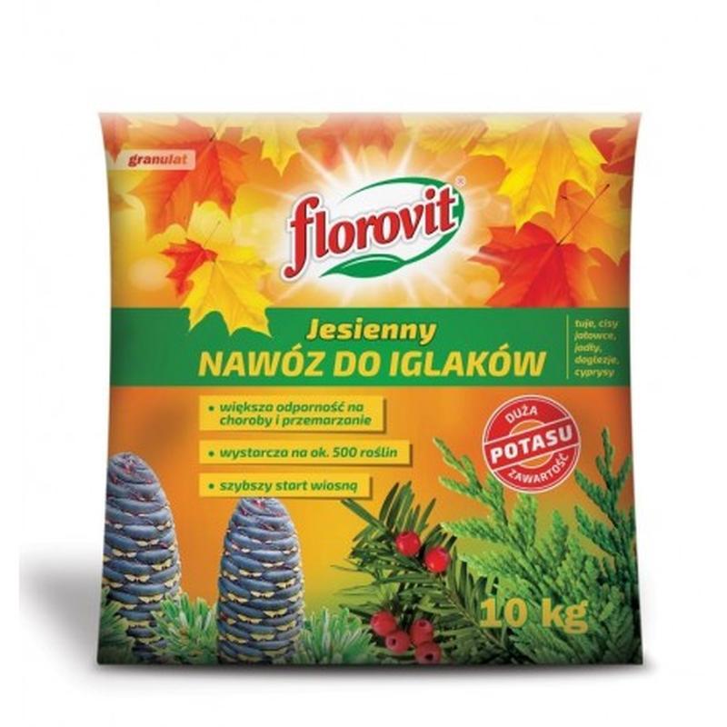 Удобрение осеннее Florovit  для хвои , 10 КГ