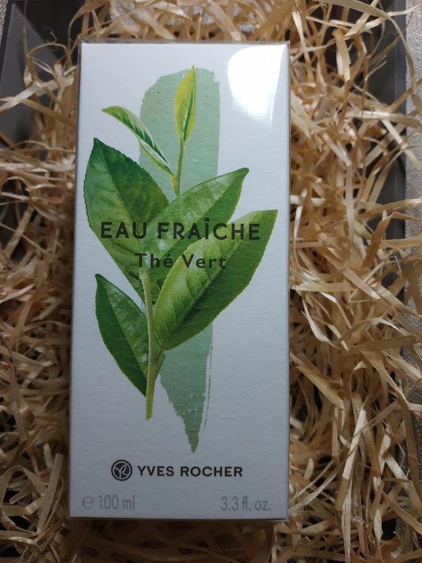Туалетная вода зеленый чай 100 мл yves rocher