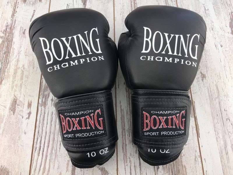 Перчатки боксерские Кожаные