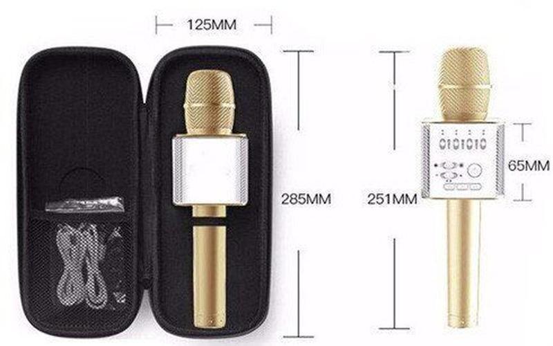 Беспроводные микрофоны для караоке   Микрофон караоке   Микрофон - Фото 4