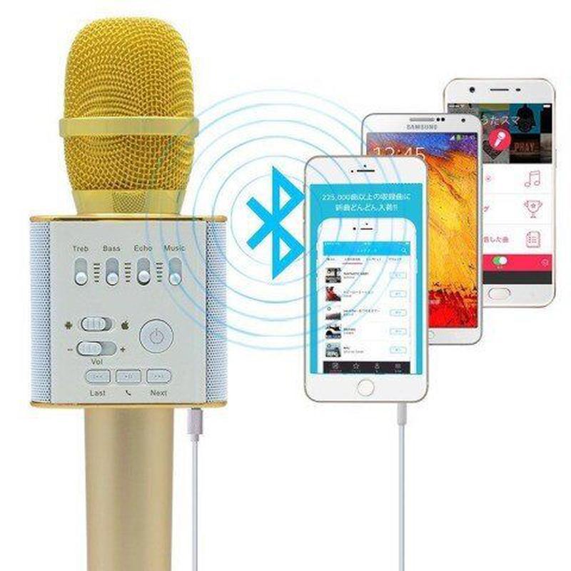 Беспроводные микрофоны для караоке   Микрофон караоке   Микрофон - Фото 6