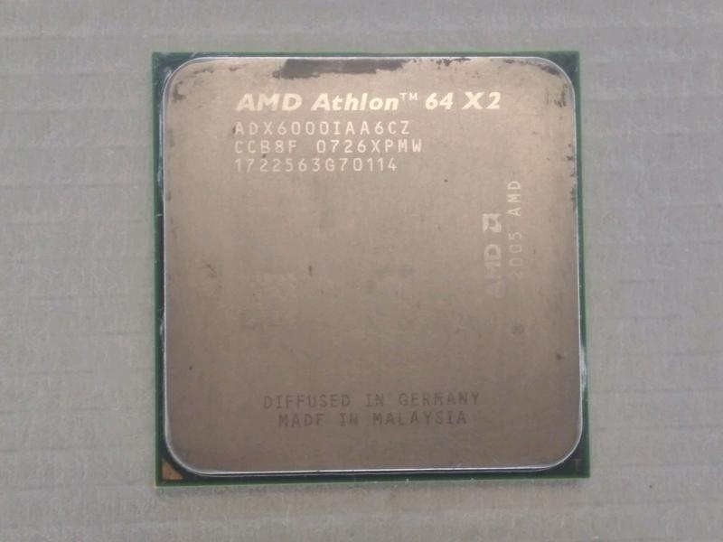 Процессор AMD Athlon 64 X2 6000+ socket AM2