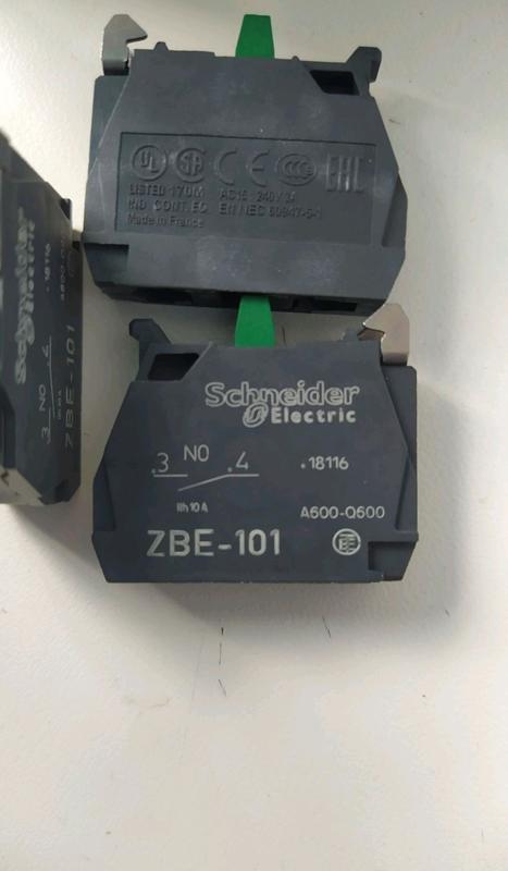 БЛОК КОНТАКТ Schneider electric zbe101
