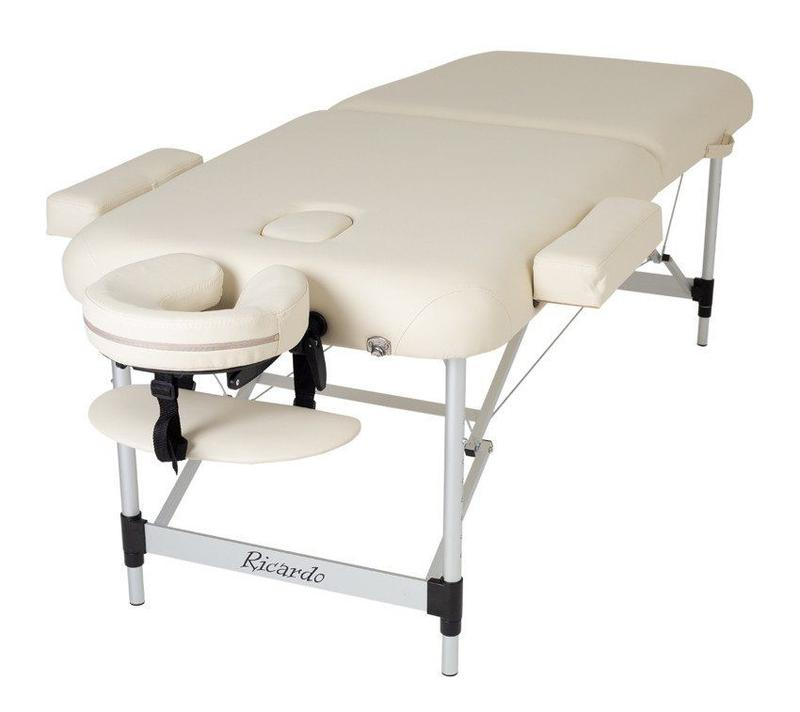 Массажный стол RICARDO BERGAMO light beige