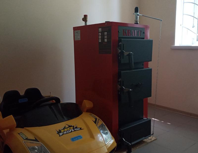 Твердотопливный котел длительного горения Kraft E new - Фото 2