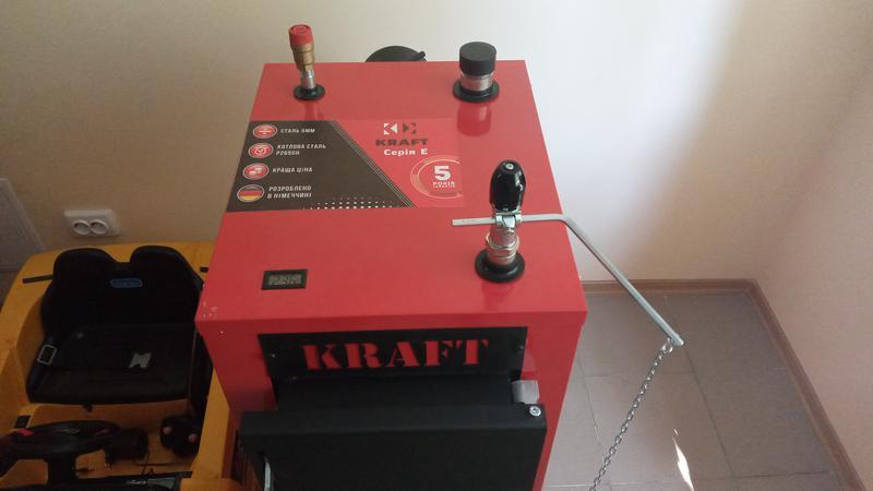 Твердотопливный котел длительного горения Kraft E new