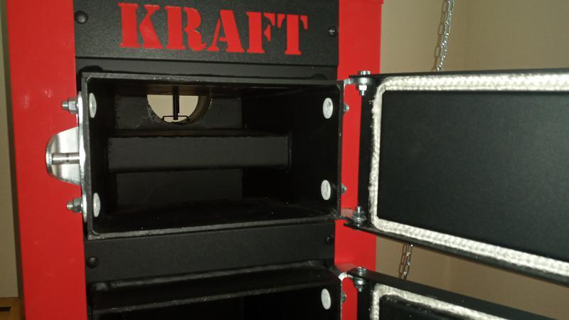 Твердотопливный котел длительного горения Kraft E new - Фото 6