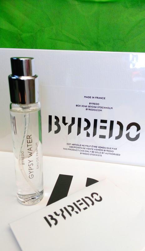 Gypsy water _byredo _миниатюра пробник refillis' 12 мл (из наб...