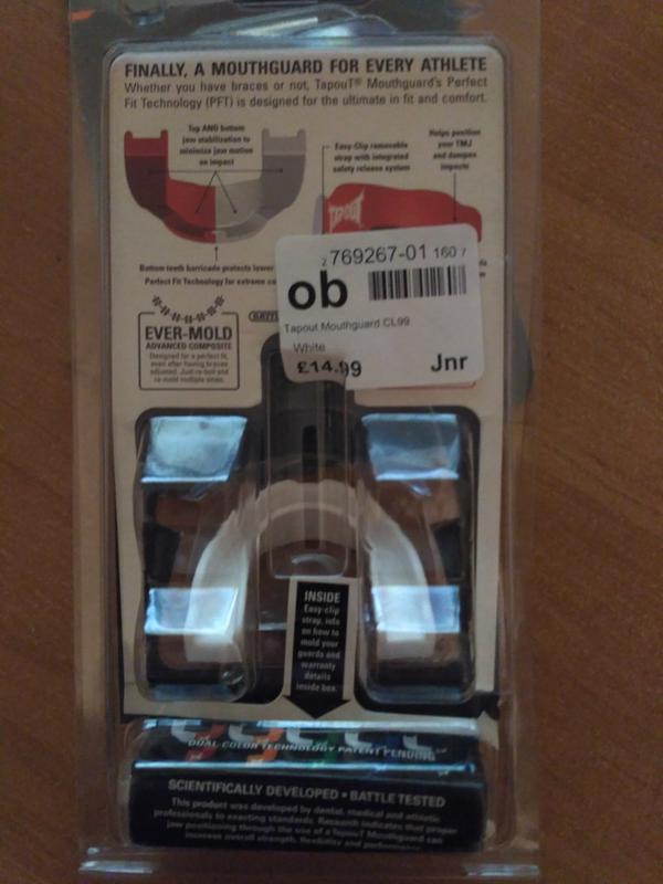 Капа для единоборств Tapout Junior - Фото 3