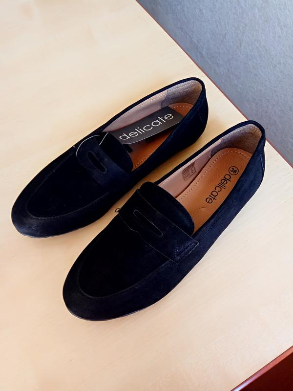 Туфельки от Delicate, кожаные