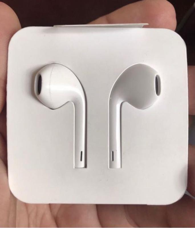 Наушники Apple EarPods lightning оригинал из комплекта iPhone (ай