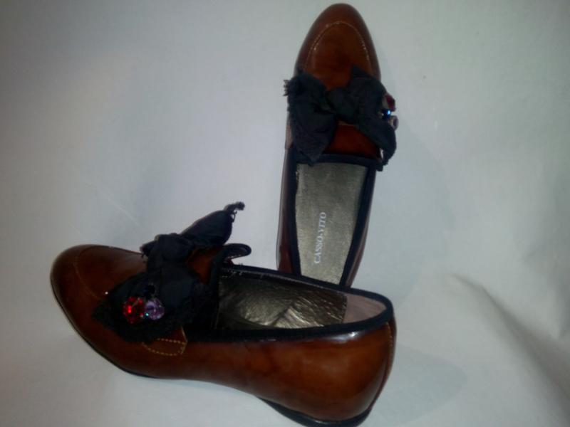 Туфли лаковве лоферы