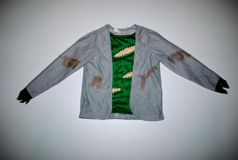 Пиджак паутина кофта серая зеленая на хеллоуин 3 5 7 лет карнавал