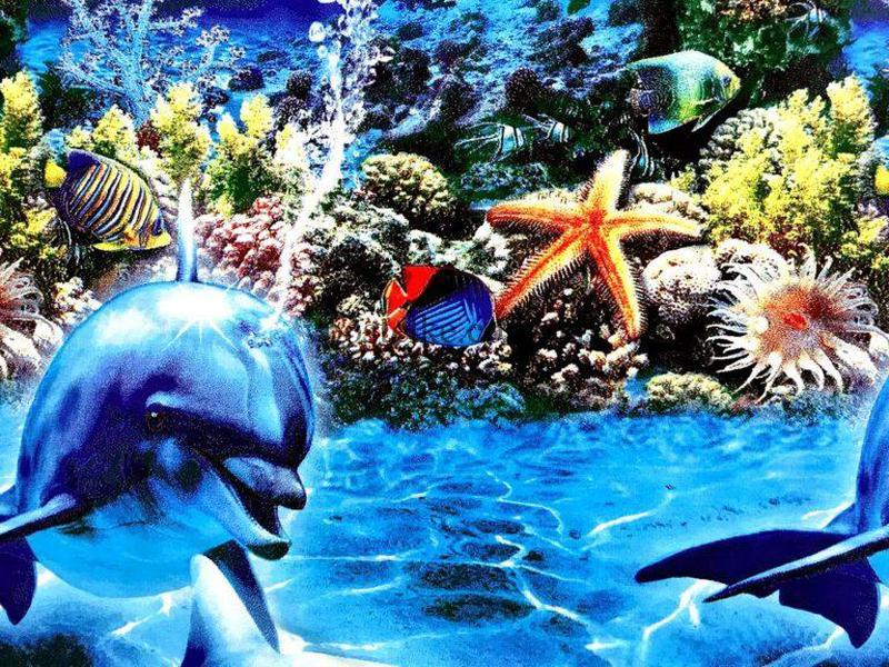 Постельное белье подростковый бязь Дельфины - Фото 2