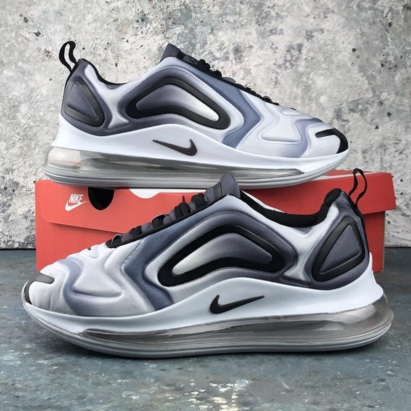 Мужские серые кроссовки найк nike air max 720 grey.