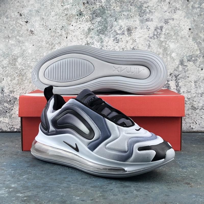 Мужские серые кроссовки найк nike air max 720 grey. - Фото 4