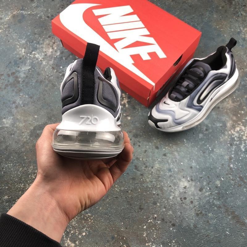 Мужские серые кроссовки найк nike air max 720 grey. - Фото 6