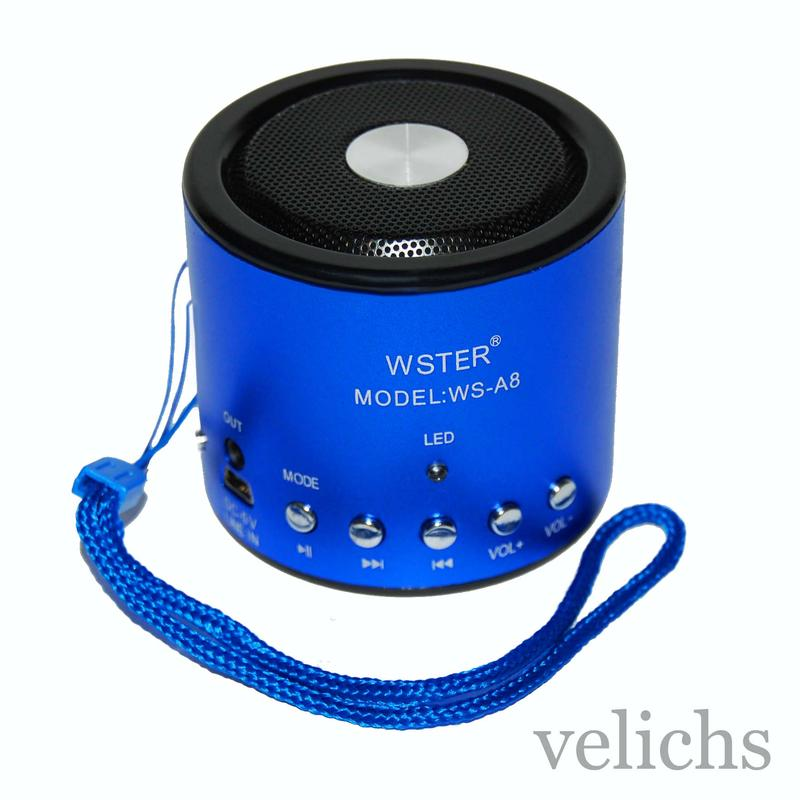Портативная колонка MP3 FM WS-A8