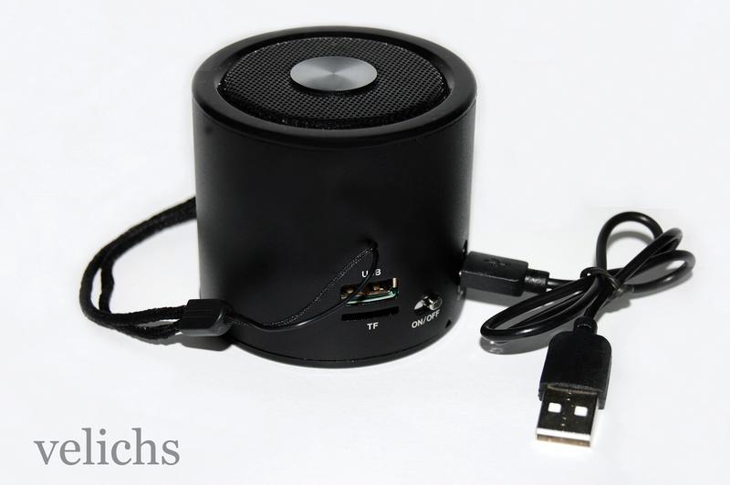 Портативная колонка WS-A8 MP3 FM - Фото 6