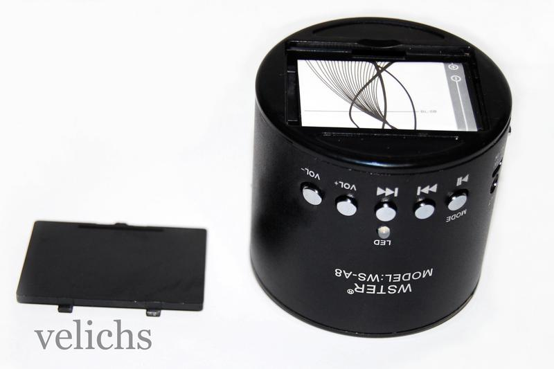Портативная колонка WS-A8 MP3 FM - Фото 12