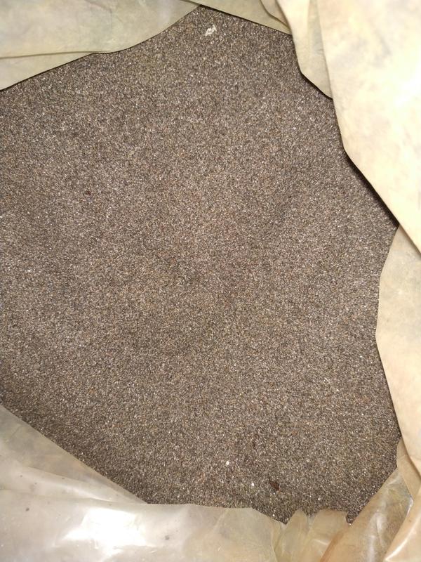 Кварцовий пісок 36кг для піскоструйки і формовочний пісок