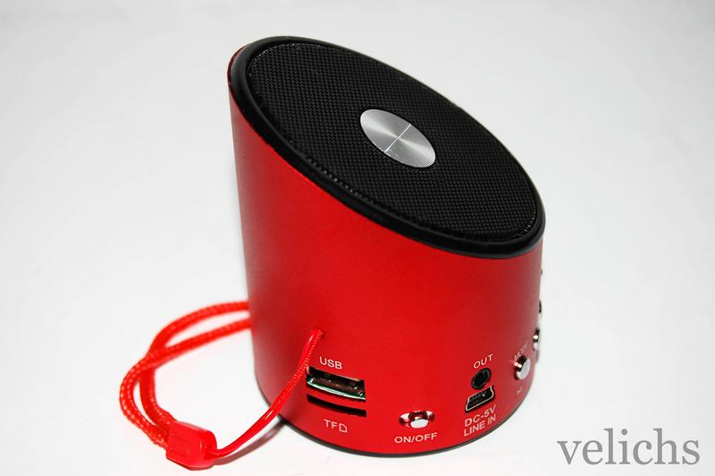 Портативная колонка MP3 FM WS-A9 - Фото 5