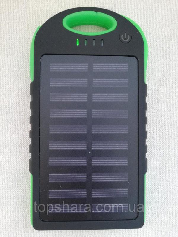 Портативное зарядное Power Bank Solar 50000 на солнечной батареи - Фото 4
