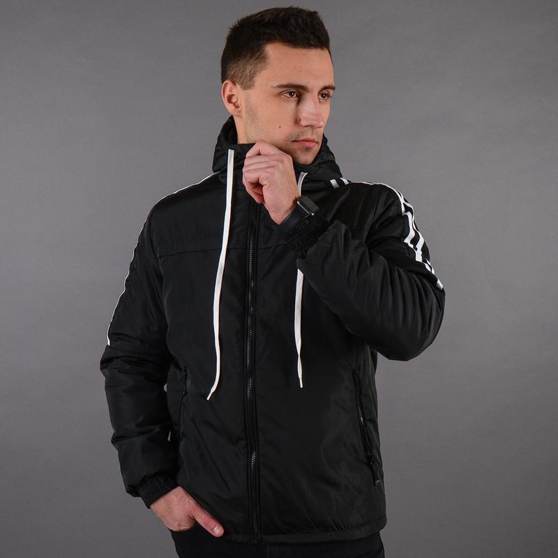 Стильная демисезонная мужская куртка - Фото 3