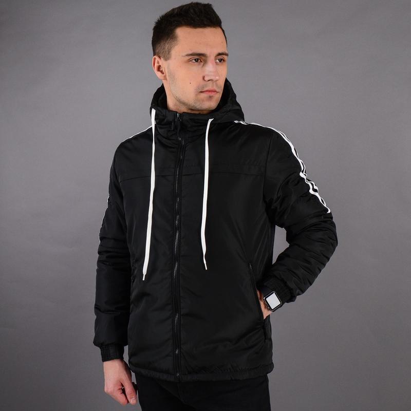 Стильная демисезонная мужская куртка - Фото 4