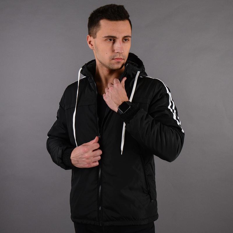 Стильная демисезонная мужская куртка - Фото 5