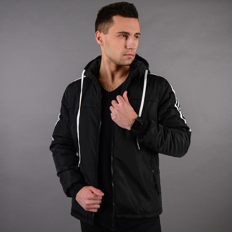 Стильная демисезонная мужская куртка - Фото 6