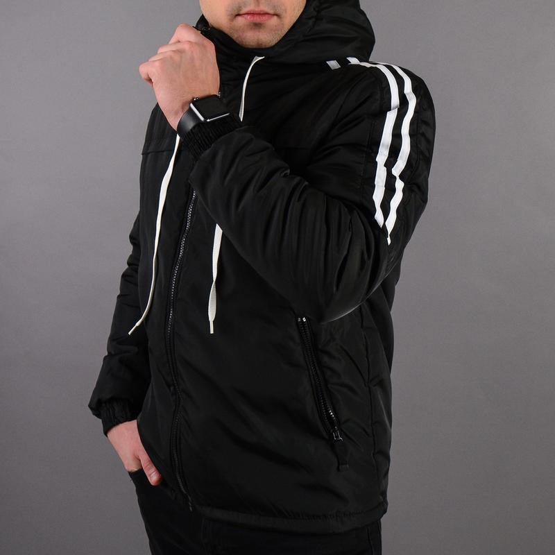 Стильная демисезонная мужская куртка - Фото 7