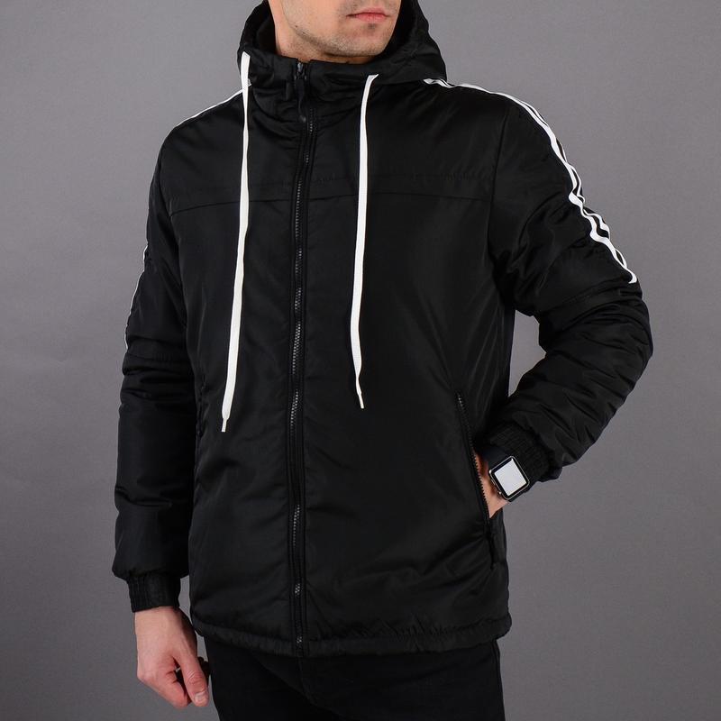 Стильная демисезонная мужская куртка - Фото 8