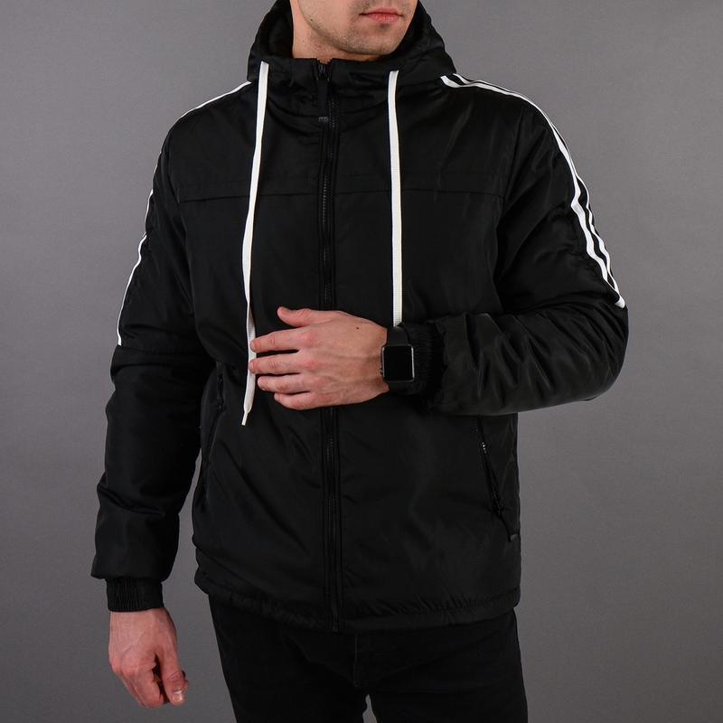 Стильная демисезонная мужская куртка - Фото 9
