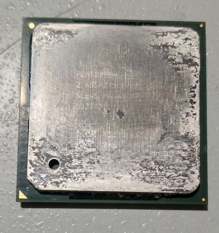 Процессор Intel Pentium 4 2.6 GHz на сокет 478