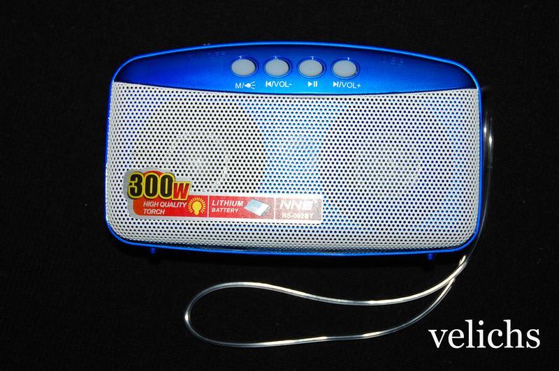 Портативная Bluetooth колонка с MP-3 и FM NS-002 BT