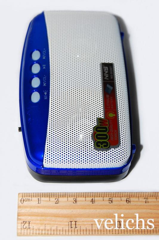Портативная Bluetooth колонка с MP-3 и FM NS-002 BT - Фото 5
