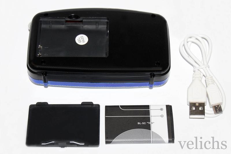 Портативная Bluetooth колонка с MP-3 и FM NS-002 BT - Фото 8