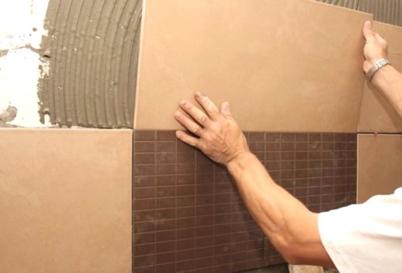 Укладка плитки в Киеве Опытный плиточник