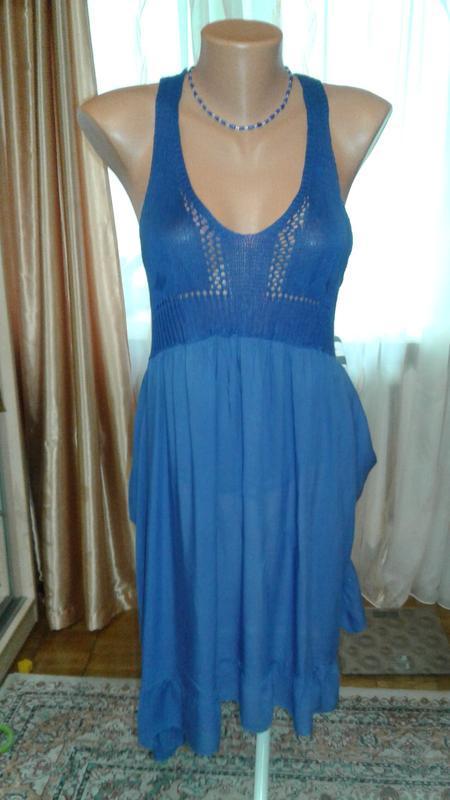 Супер-легкое и воздушное, натуральное платье из барселоны