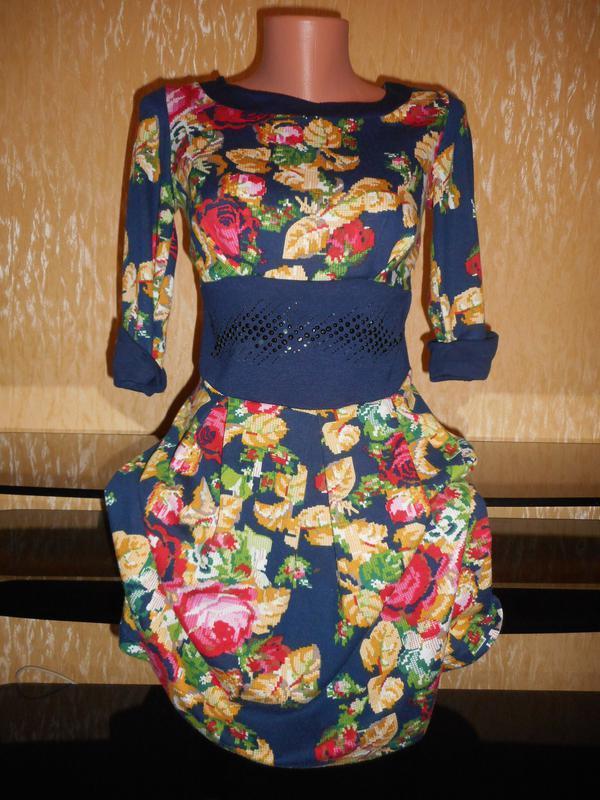 Сногшибательное платье в этномотивы