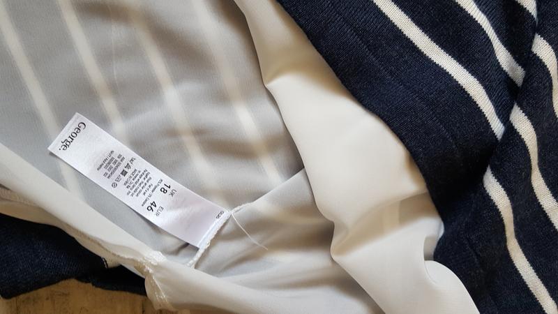 Красивый свитер блузка асиметричный рукав 3/4 - Фото 3