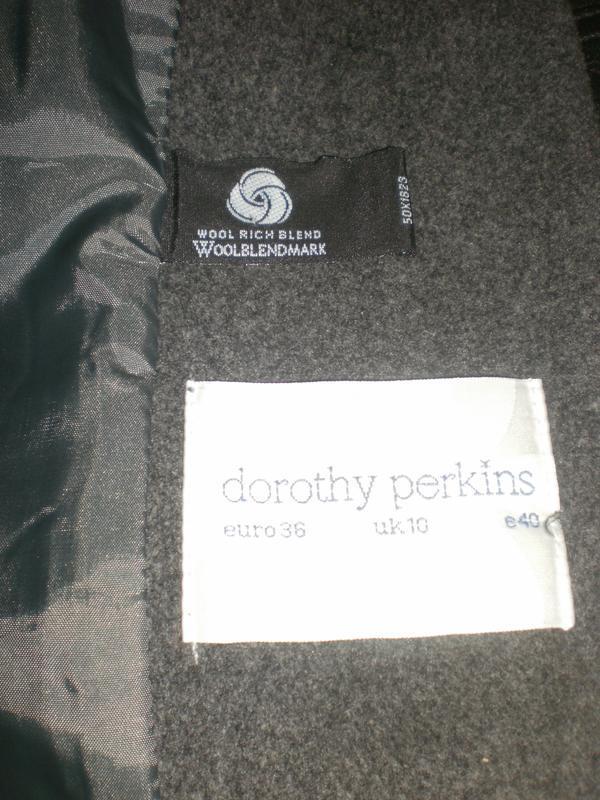 Шикарнейше пальто з густим пишним мехом dorothy perkins - Фото 4