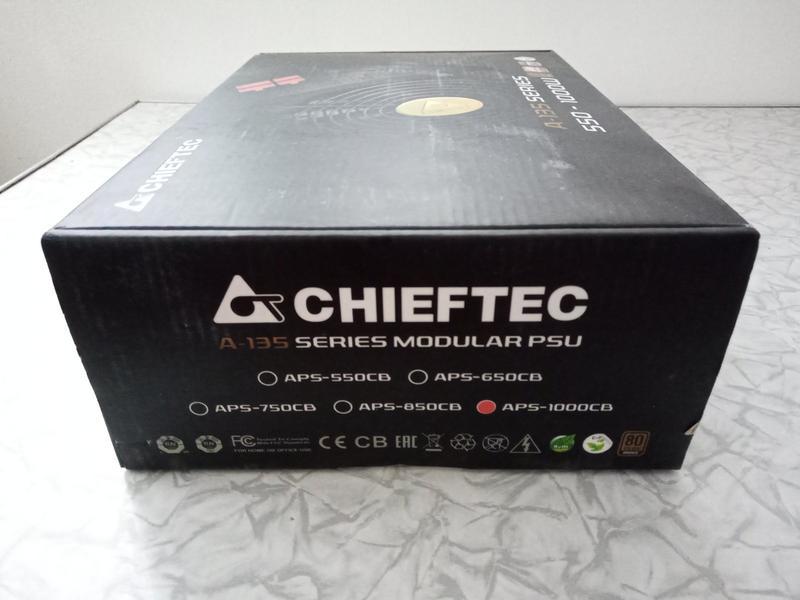 Блок питания Chieftec A-135 1000W (APS-1000CB)