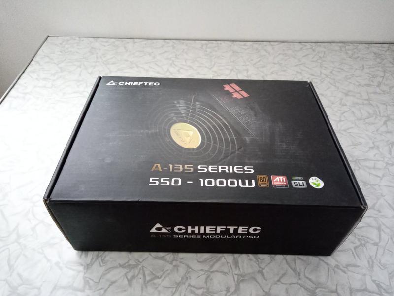 Блок питания Chieftec A-135 1000W (APS-1000CB) - Фото 2