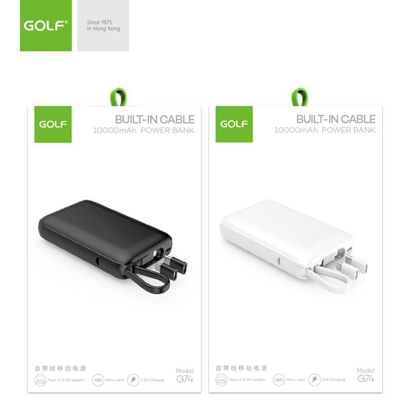 Power bank Golf G74 10000mAh - Фото 2